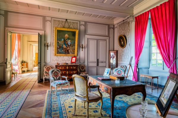 Le salon du chateau