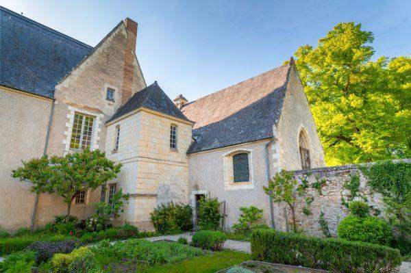 L'exterieur de la chapelle du chateau de Gizeux