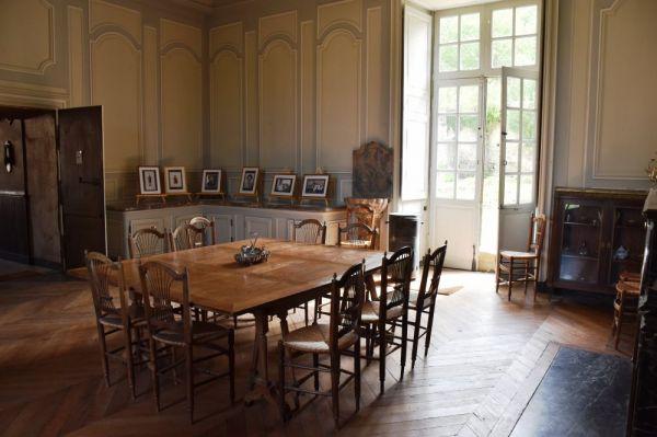 La salle à manger du chateau