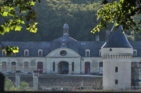 La façade du chateau