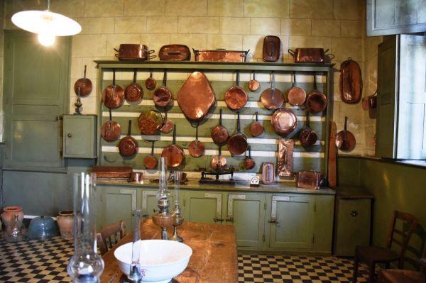 La cuisine du chateau proche de Tours