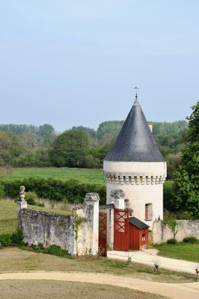 L'architecture du vieux chateau de la tour