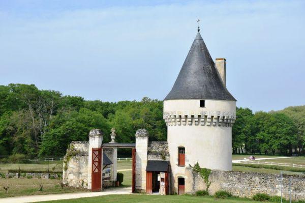 Devanture du vieux chateau de la tour
