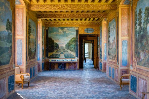 L'interieur du chateau de Gizeux