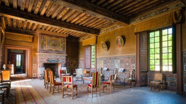 Salon du chateau